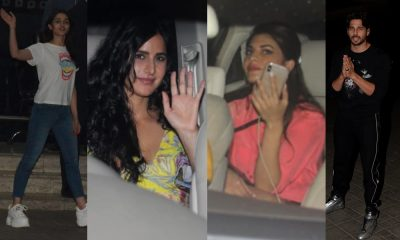 Katrina Kaif Jacqueline Fernandez at Sidharth Malhotra birthday party; Alia Bhatt gave it a miss