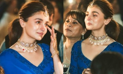 Alia Bhatt gets emotional at her BFF's wedding, cries