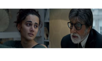 Badla promotional video starring Taapsee Pannu and Amitabh Bachchan