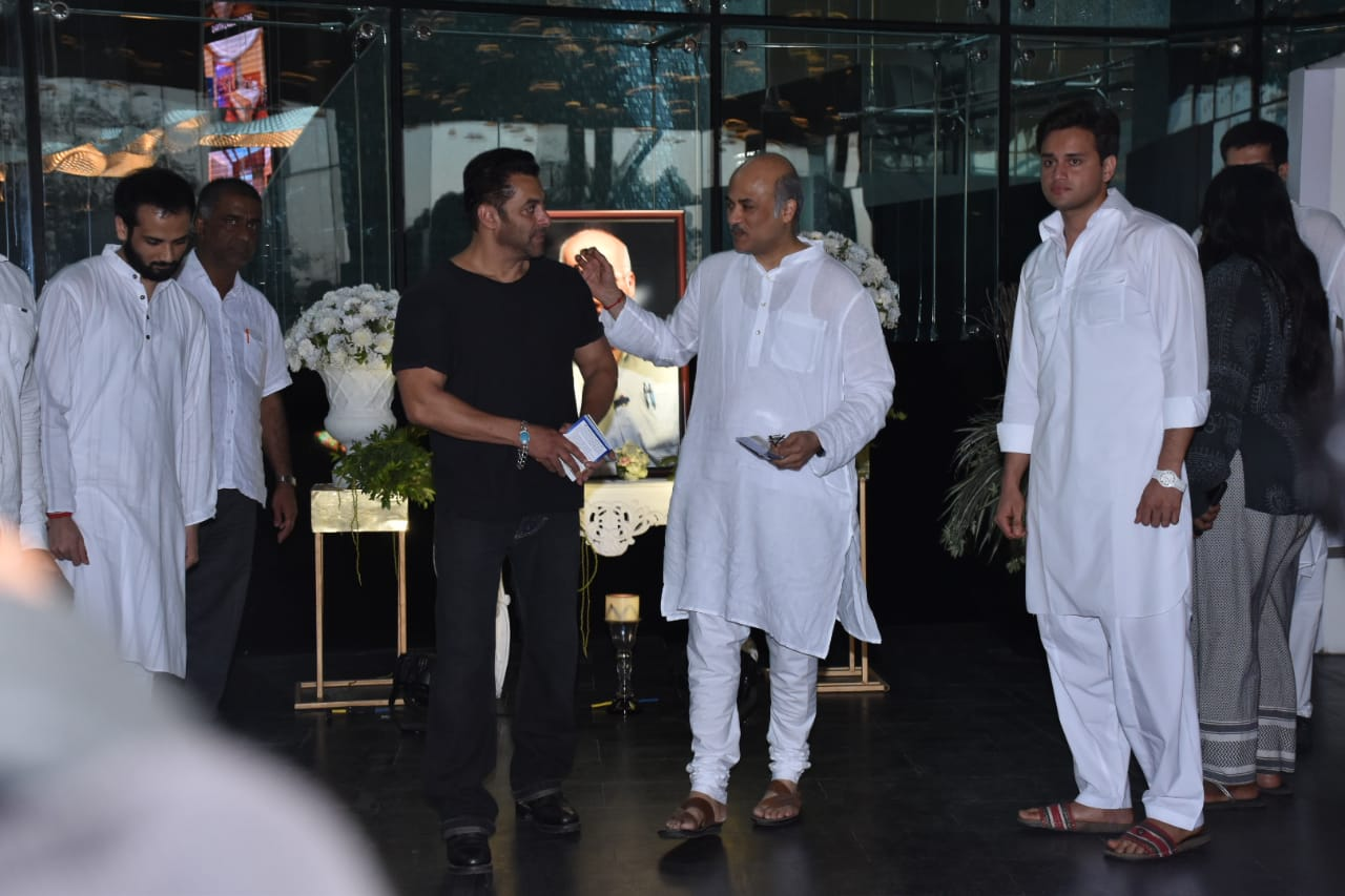 Salman Khan with Sooraj barjatya