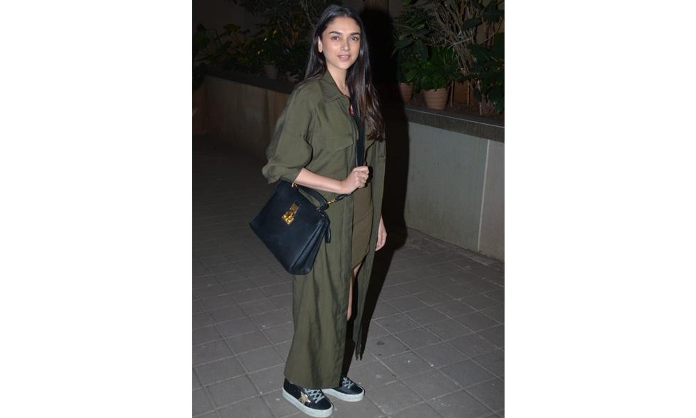 Aditi Rao Hydari at Punit Malhotra's Valentine's Day party