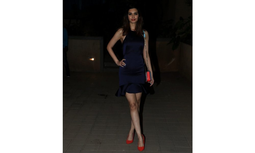 Diana Penty at Punit Malhotra's Valentine's Day party