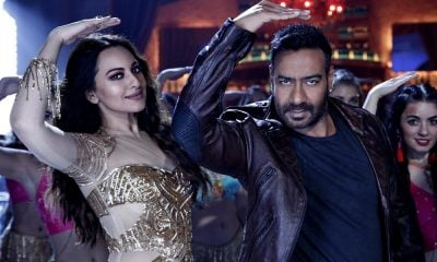 Ajay Devgn and Sonakshi Sinha in the Mungda song from Total Dhamaal
