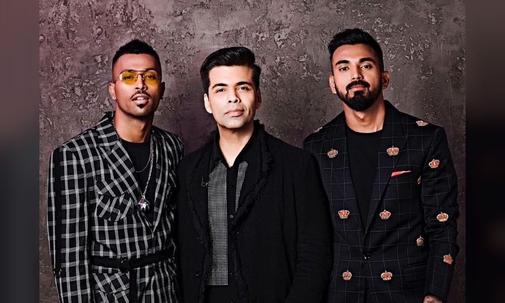 Karan Johar talks about Hardik pandya controversy on Arbaaz Khans show Pinch