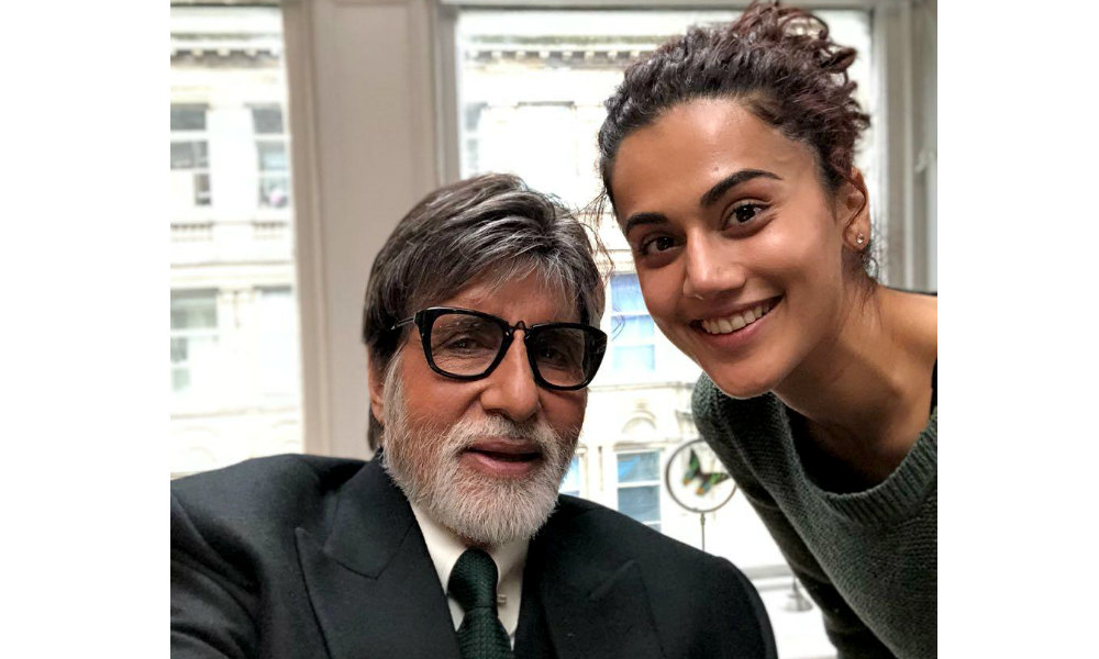 badla box office collection day 1 amitabh bachchan taapsee pannu film 5 crore