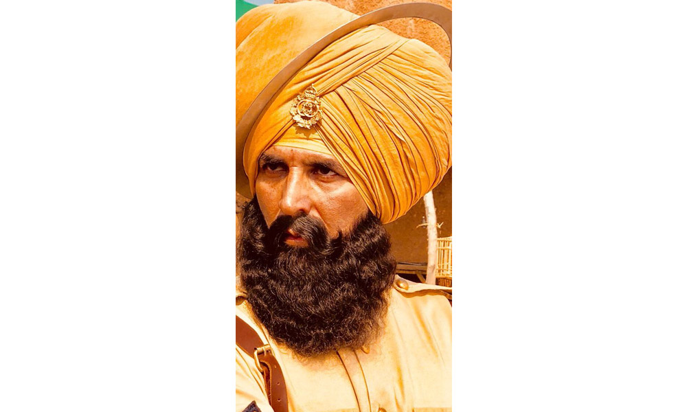 kesari still akshay kumar first look