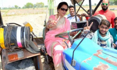 Hema Malini trolled for her campaigning
