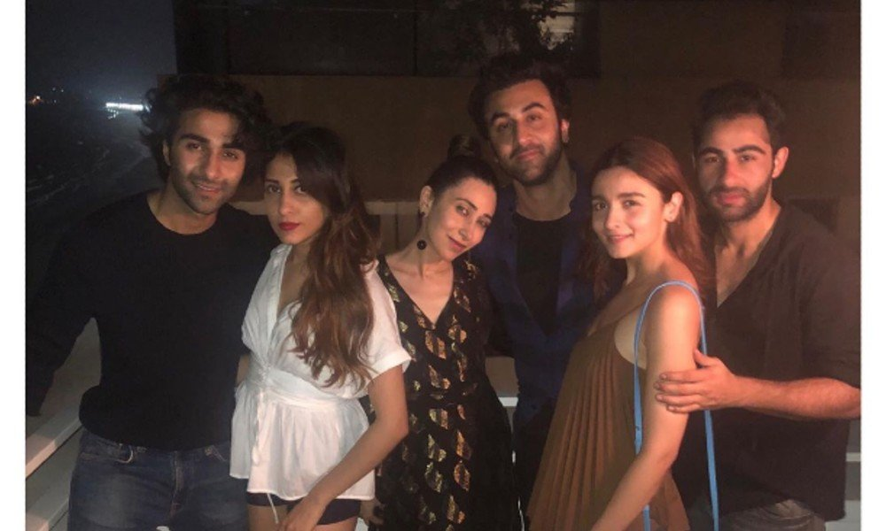 Kareena Kapoor Khan hosted a birthday party for Kunal Kemmu and Alia