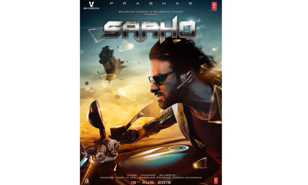 Saaho new poster